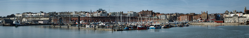 panoramic image of Ramsgate